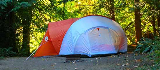 orange-white-tent